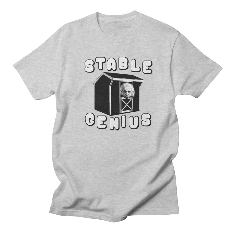 Stable Genius Men's Regular T-Shirt by Sam Shain's Artist Shop