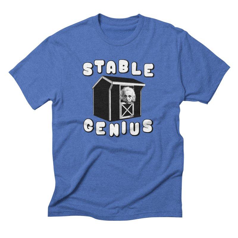 Stable Genius Men's T-Shirt by Sam Shain's Artist Shop