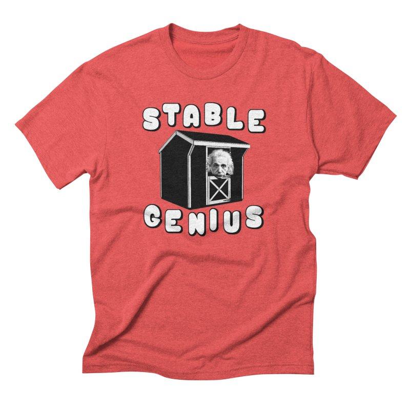 Stable Genius Men's Triblend T-Shirt by Sam Shain's Artist Shop