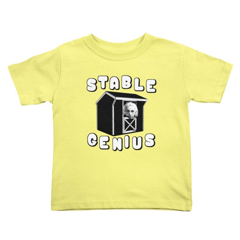 Stable Genius Kids Toddler T-Shirt by Sam Shain's Artist Shop