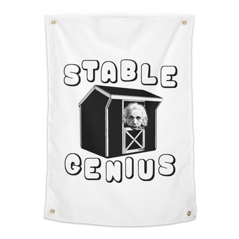 Stable Genius Home Tapestry by Sam Shain's Artist Shop