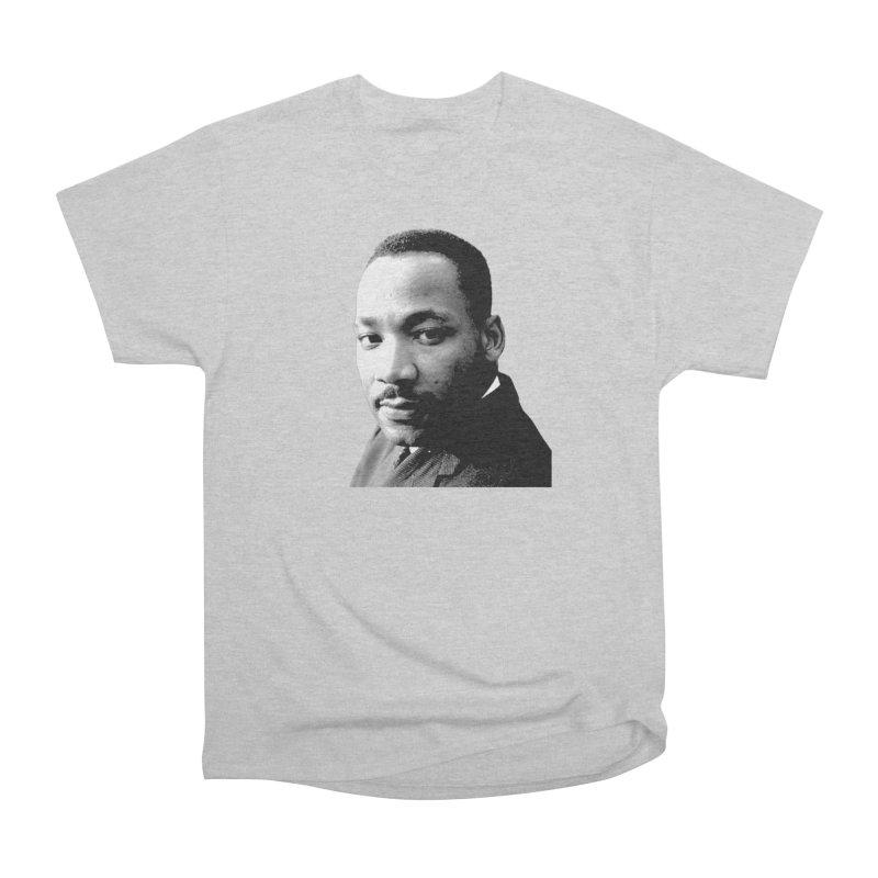 MLK Men's T-Shirt by Sam Shain's Artist Shop