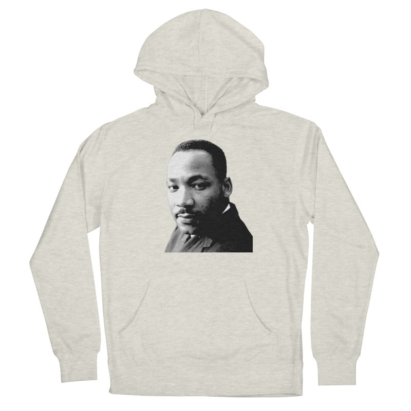 MLK Women's French Terry Pullover Hoody by Sam Shain's Artist Shop
