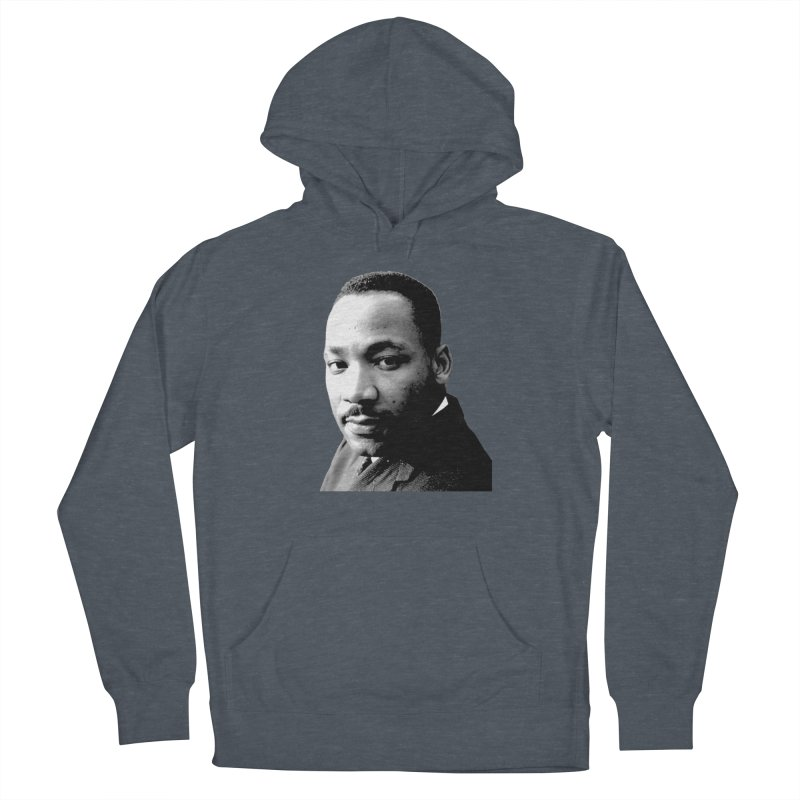 MLK Men's French Terry Pullover Hoody by Sam Shain's Artist Shop