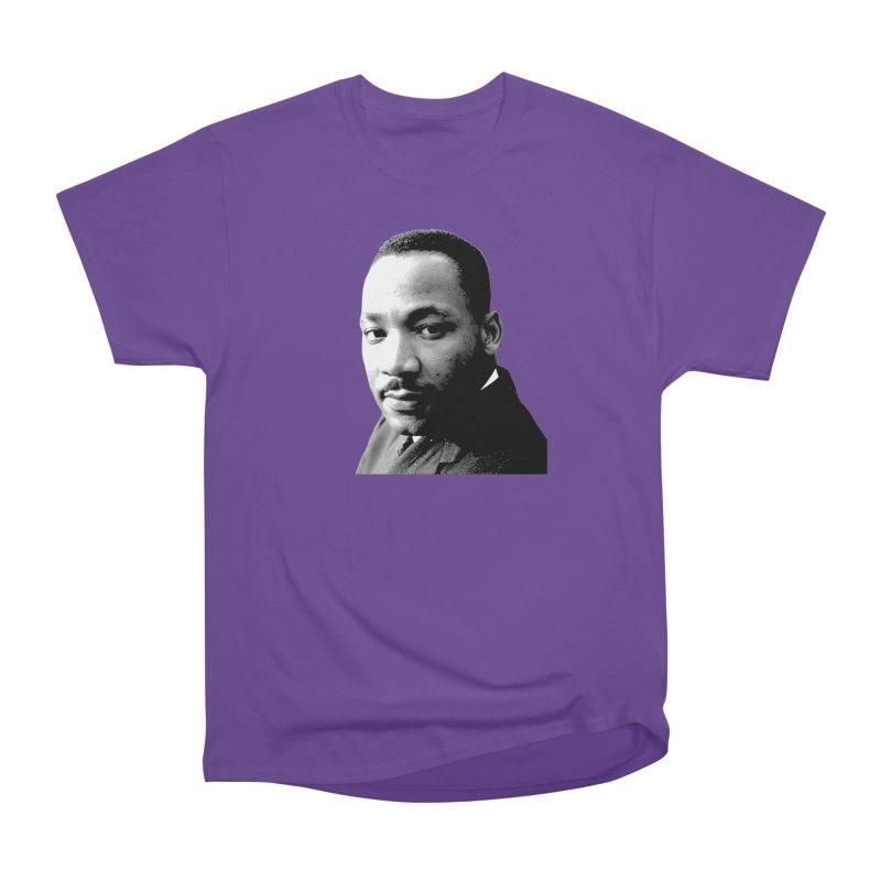 MLK Women's Heavyweight Unisex T-Shirt by Sam Shain's Artist Shop