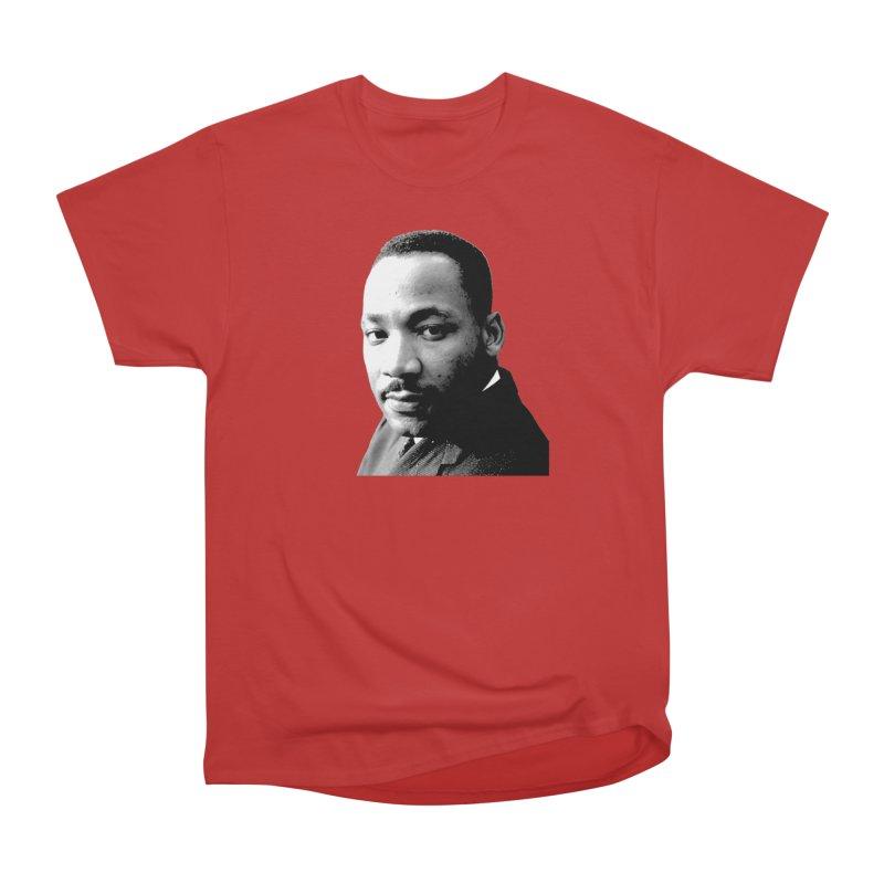 MLK Men's Heavyweight T-Shirt by Sam Shain's Artist Shop