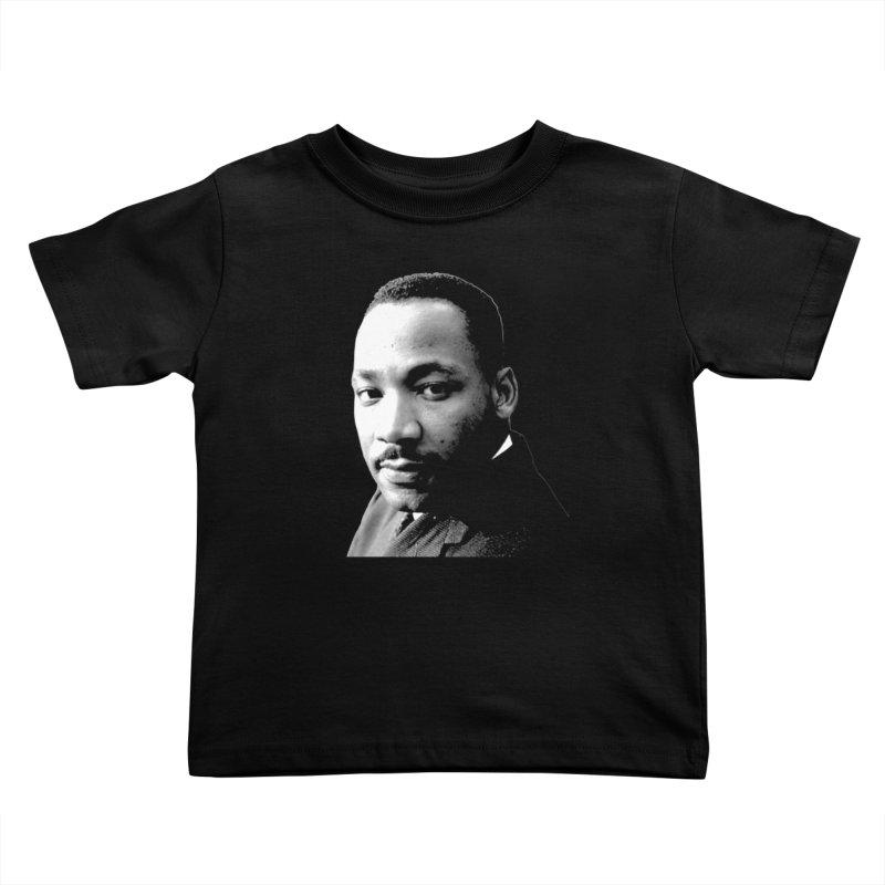 MLK Kids Toddler T-Shirt by Sam Shain's Artist Shop