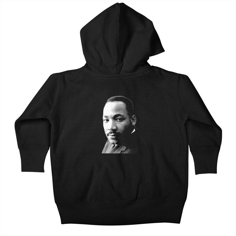 MLK Kids Baby Zip-Up Hoody by Sam Shain's Artist Shop