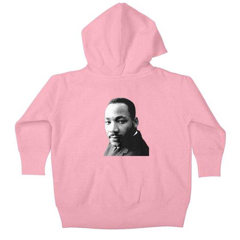 MLK Kids Baby Zip-Up Hoody by Sam Shain's Artist Shop