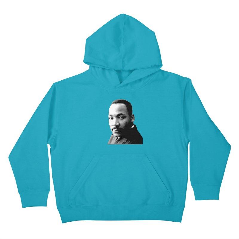 MLK Kids Pullover Hoody by Sam Shain's Artist Shop