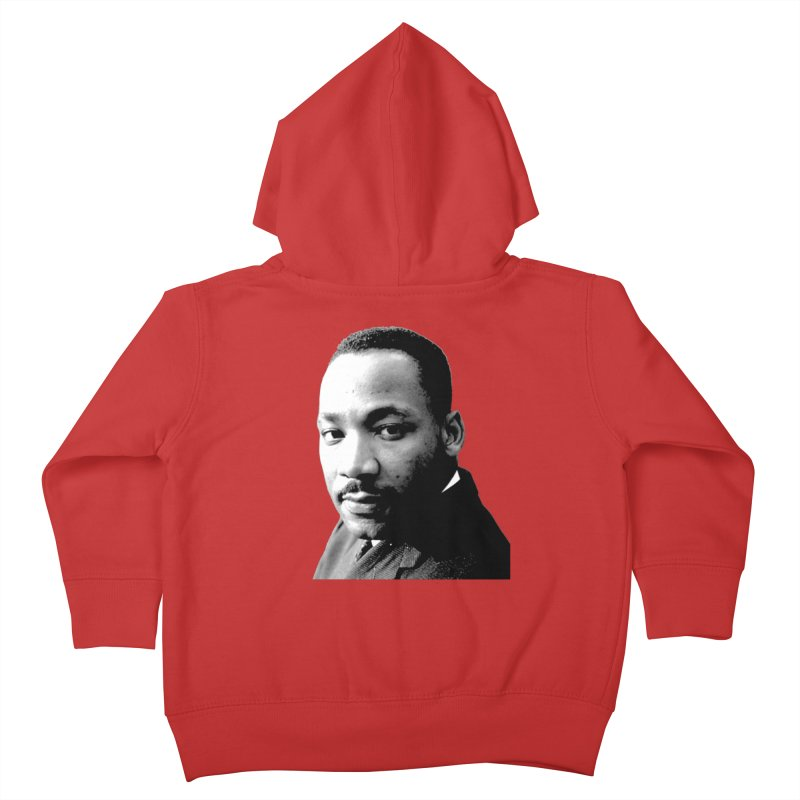 MLK Kids Toddler Zip-Up Hoody by Sam Shain's Artist Shop