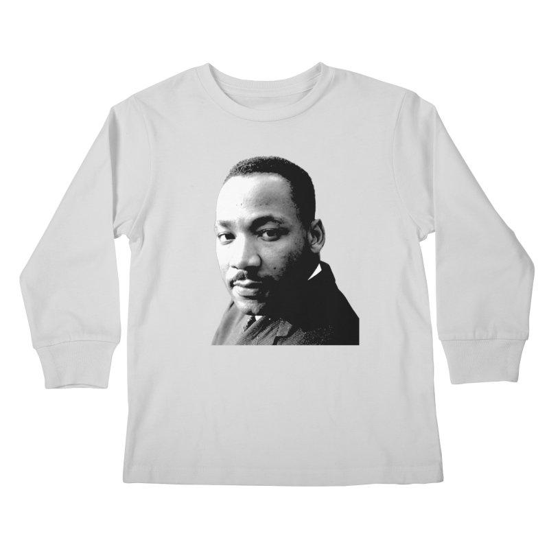 MLK Kids Longsleeve T-Shirt by Sam Shain's Artist Shop