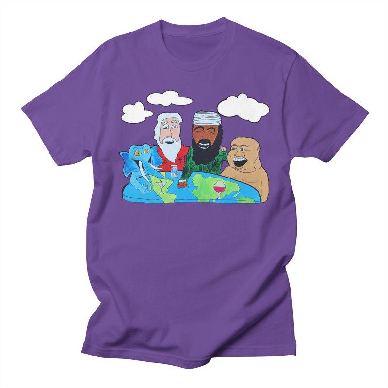 Divine Drinks Men's T-Shirt by Sam Shain's Artist Shop