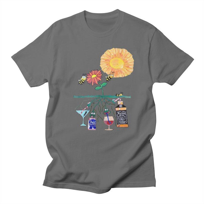Buzzed Bees Men's T-Shirt by Sam Shain's Artist Shop