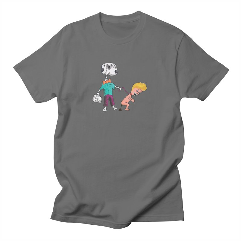 Housebroken Men's T-Shirt by Sam Shain's Artist Shop