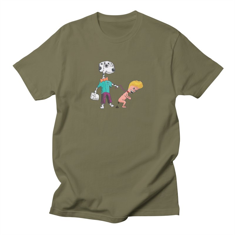 Housebroken Men's T-Shirt by Sam Shain's Artist Shop