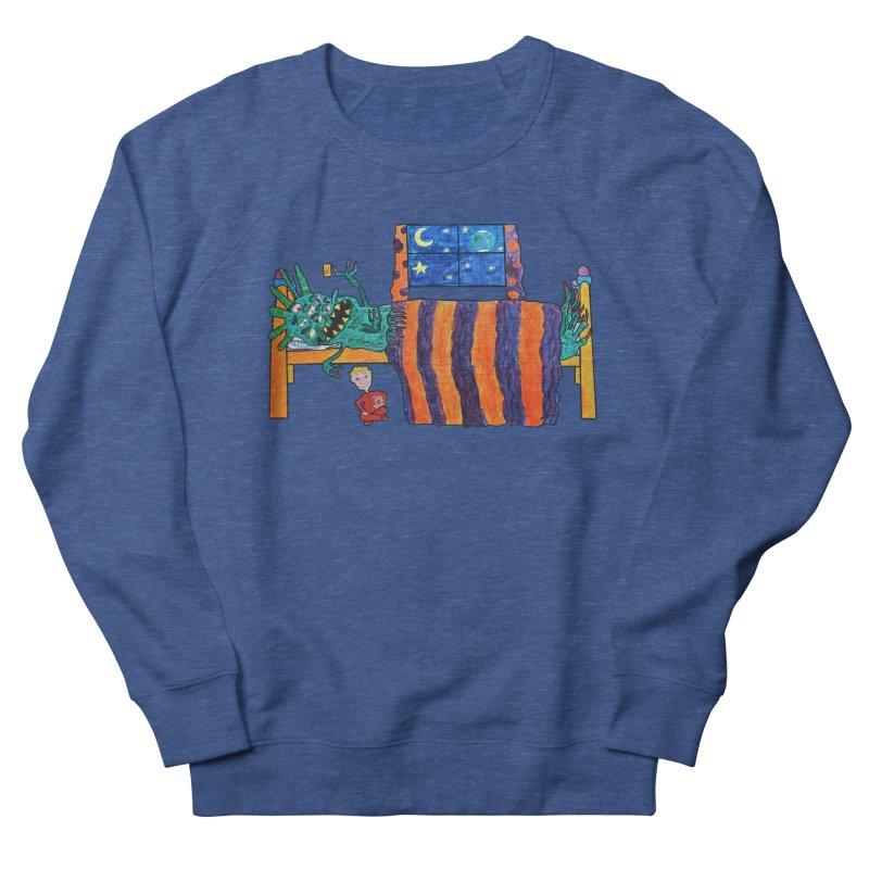 Monster Under the Bed Men's Sweatshirt by Sam Shain's Artist Shop