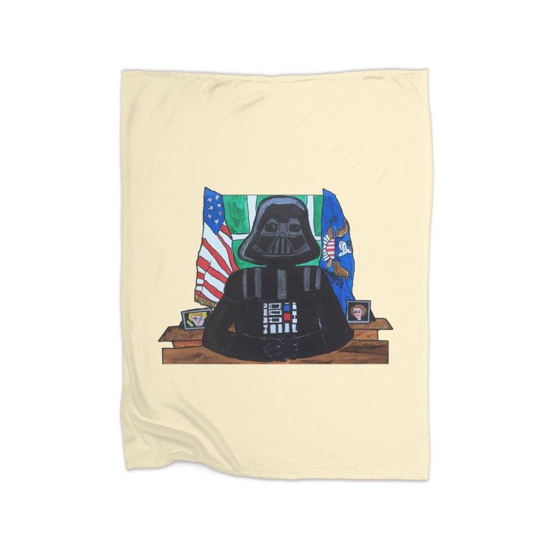 Imperial Address Home Fleece Blanket Blanket by Sam Shain's Artist Shop