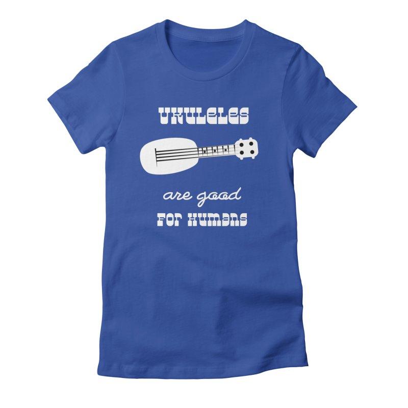Ukulele Women's T-Shirt by Sam Shain's Artist Shop