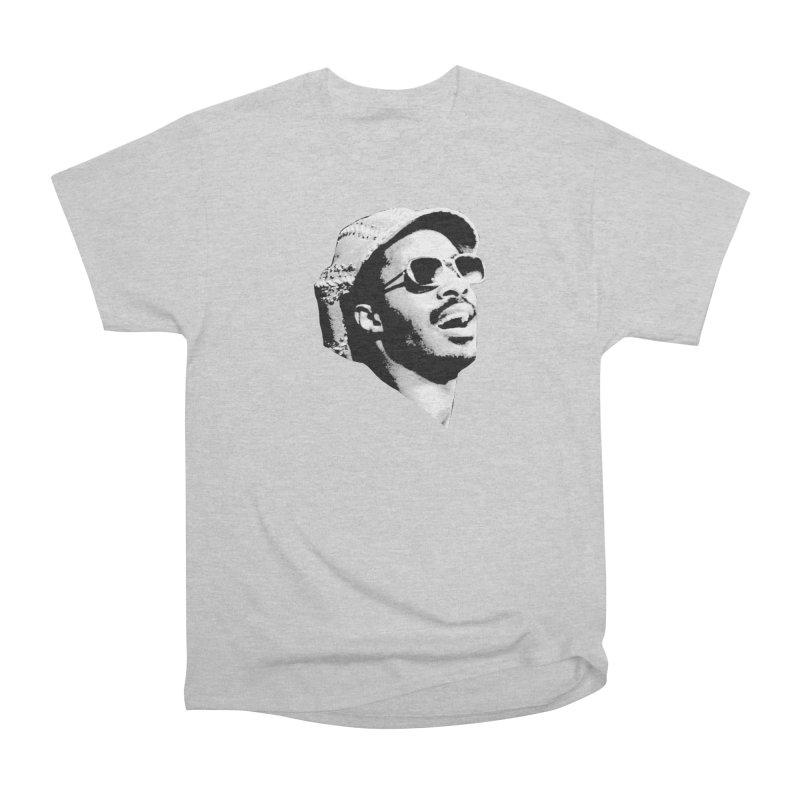 Stevie Wonder Men's T-Shirt by Sam Shain's Artist Shop