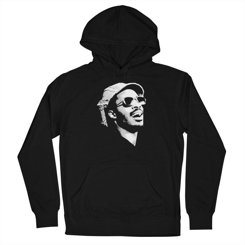 Stevie Wonder Women's French Terry Pullover Hoody by Sam Shain's Artist Shop
