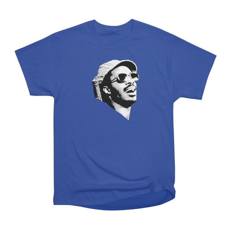 Stevie Wonder Men's Heavyweight T-Shirt by Sam Shain's Artist Shop