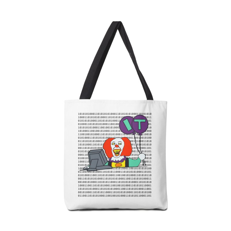 IT Accessories Tote Bag Bag by Sam Shain's Artist Shop