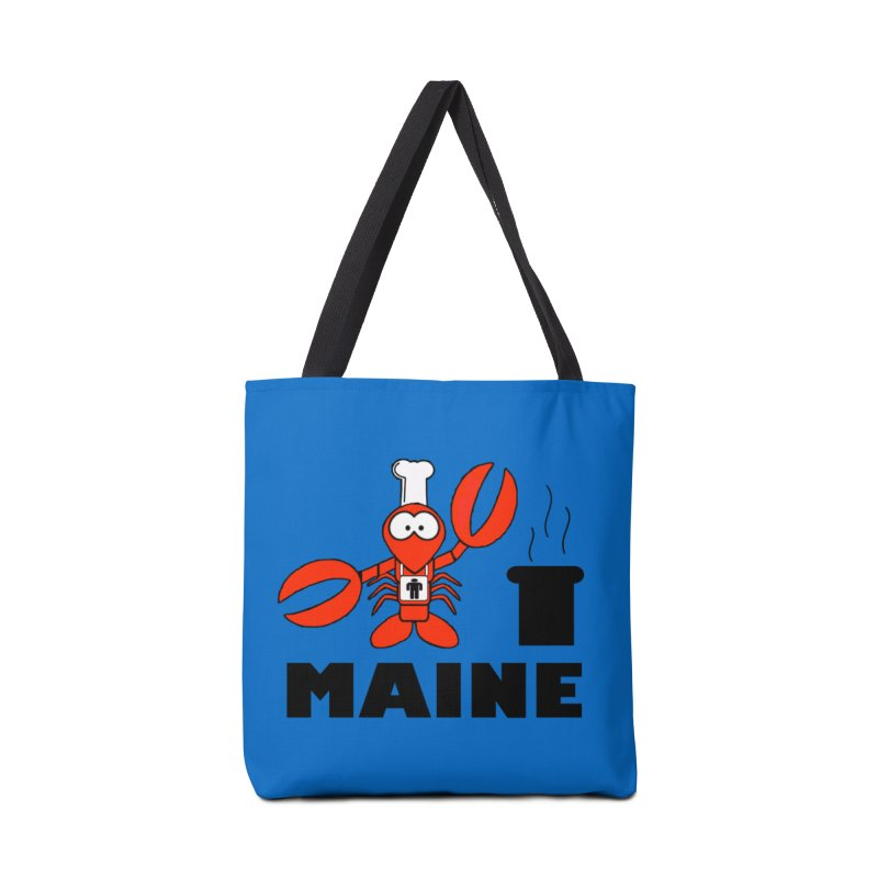 Maine! Accessories Tote Bag Bag by Sam Shain's Artist Shop