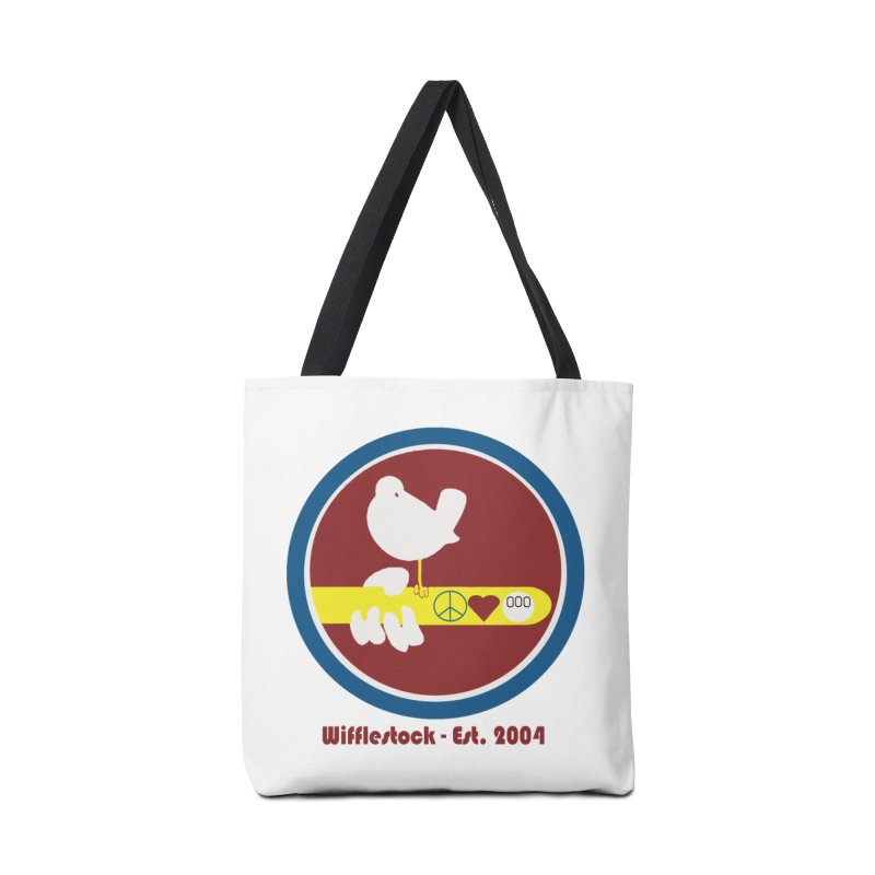 Wifflestock Accessories Tote Bag Bag by Sam Shain's Artist Shop