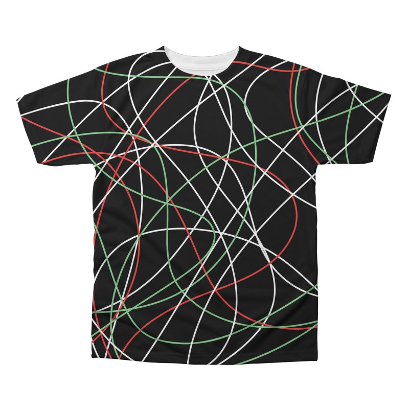 String Men's Regular All Over Print by Sam Shain's Artist Shop
