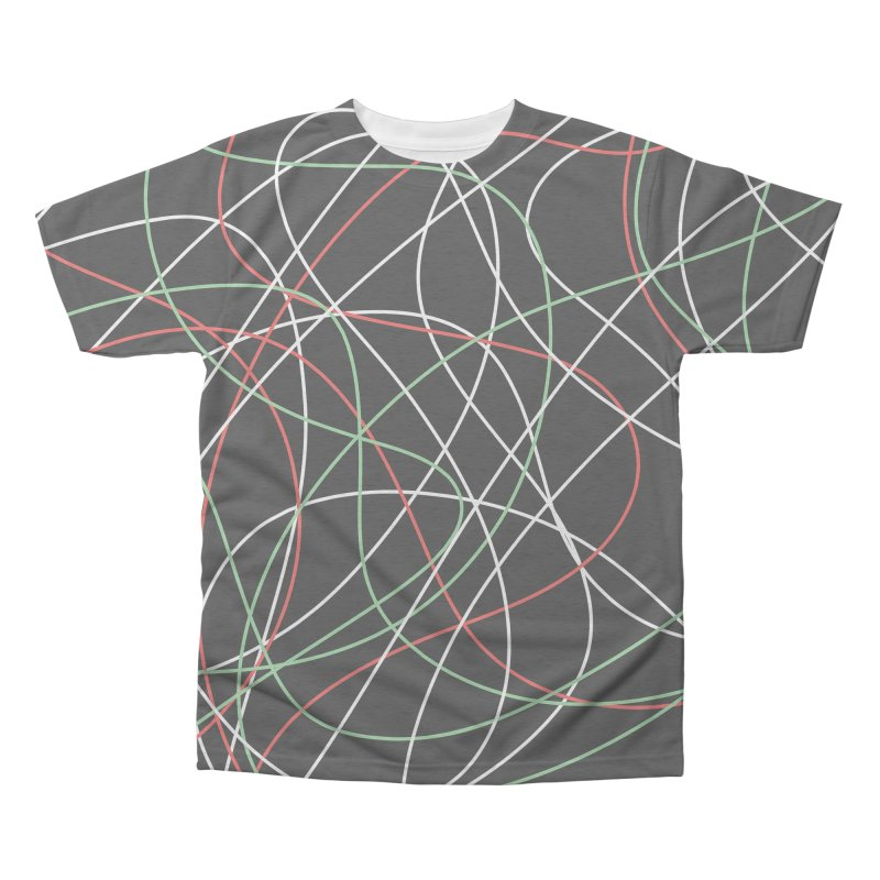 String Men's Triblend All Over Print by Sam Shain's Artist Shop