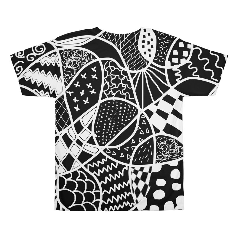 Black and White Men's All Over Print by Sam Shain's Artist Shop