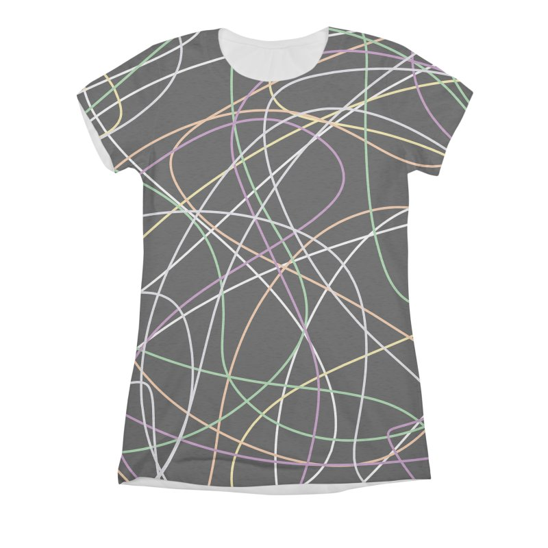 String II Women's Triblend All Over Print by Sam Shain's Artist Shop