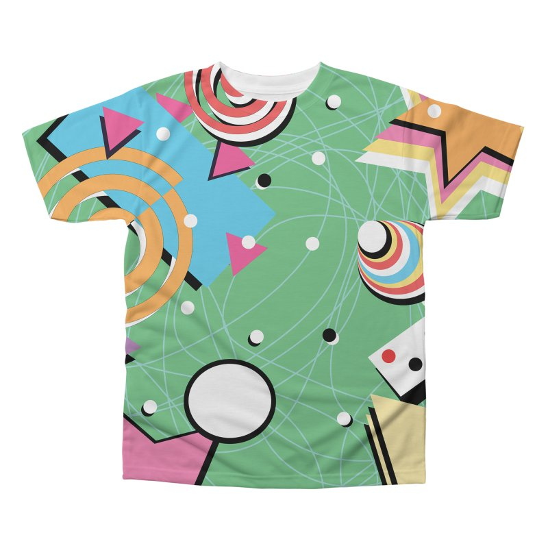 Funky Men's Regular All Over Print by Sam Shain's Artist Shop