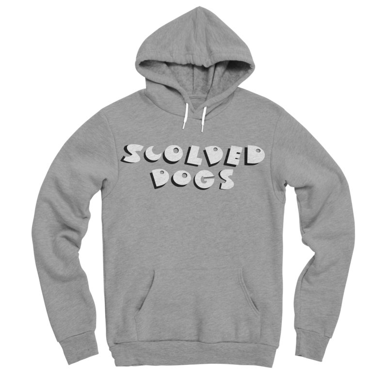 Scolded Dogs Men's Sponge Fleece Pullover Hoody by Sam Shain's Artist Shop