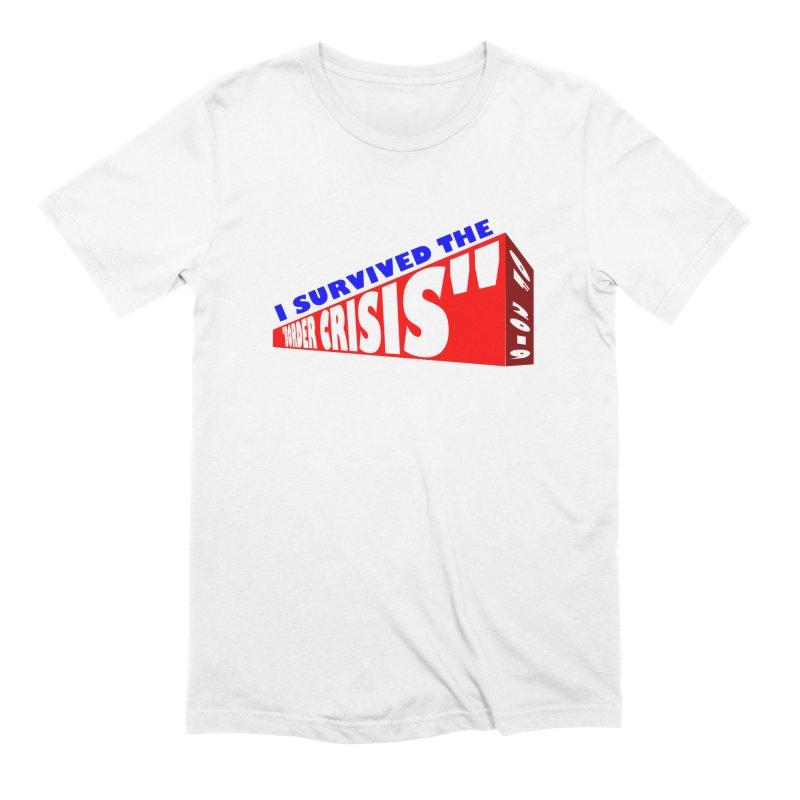 I survived Men's Extra Soft T-Shirt by Sam Shain's Artist Shop