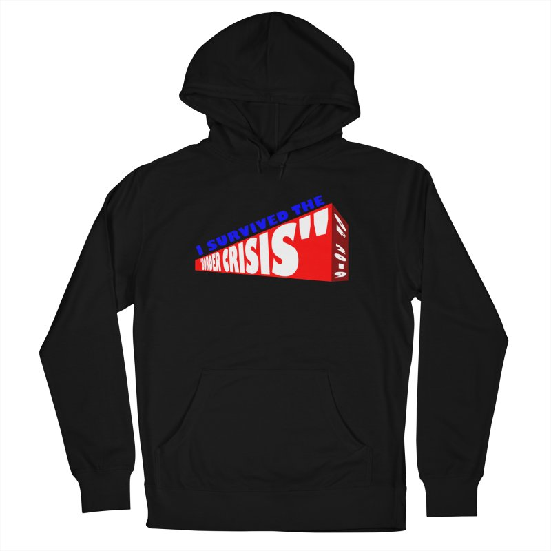 I survived Men's Pullover Hoody by Sam Shain's Artist Shop