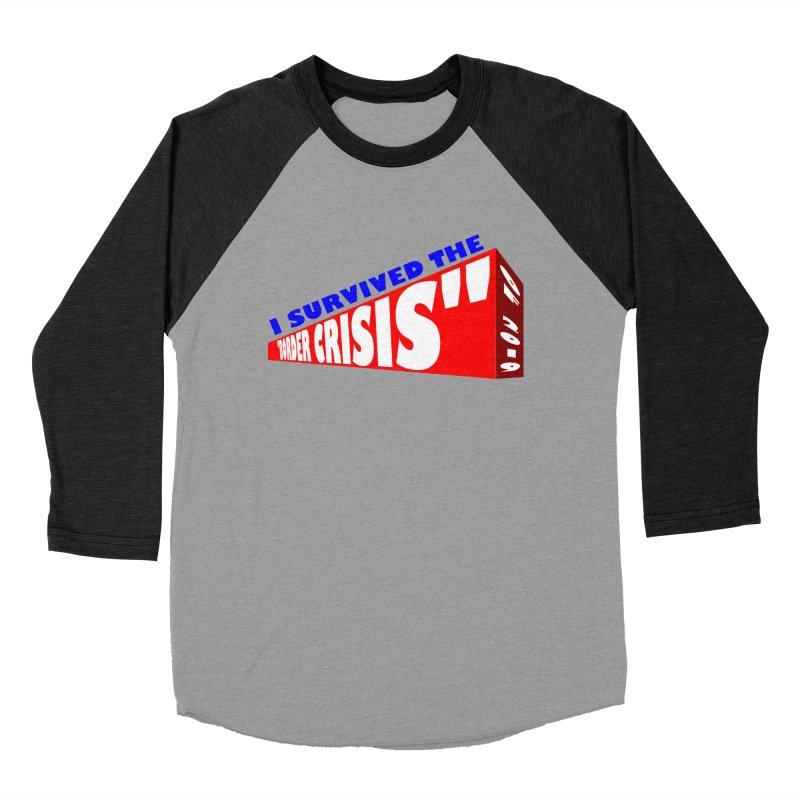 I survived Women's Baseball Triblend Longsleeve T-Shirt by Sam Shain's Artist Shop