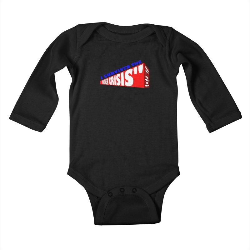 I survived Kids Baby Longsleeve Bodysuit by Sam Shain's Artist Shop