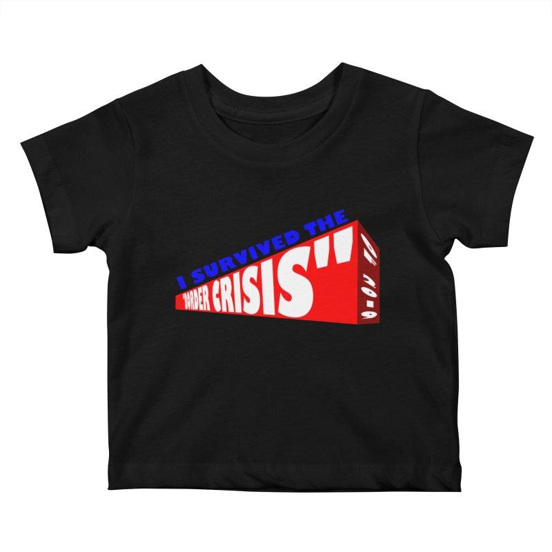 I survived Kids Baby T-Shirt by Sam Shain's Artist Shop