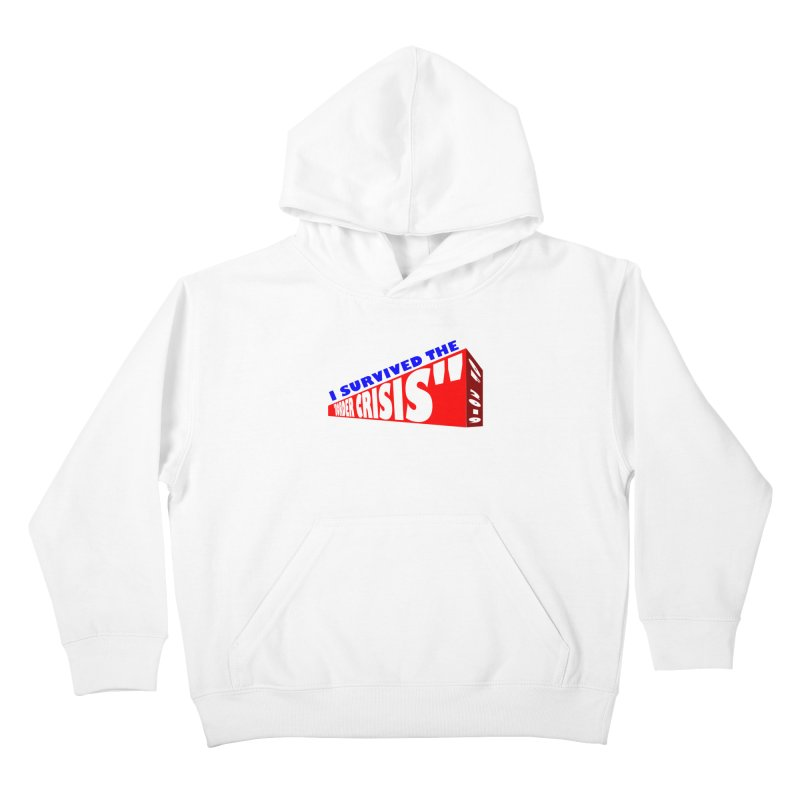 I survived Kids Pullover Hoody by Sam Shain's Artist Shop