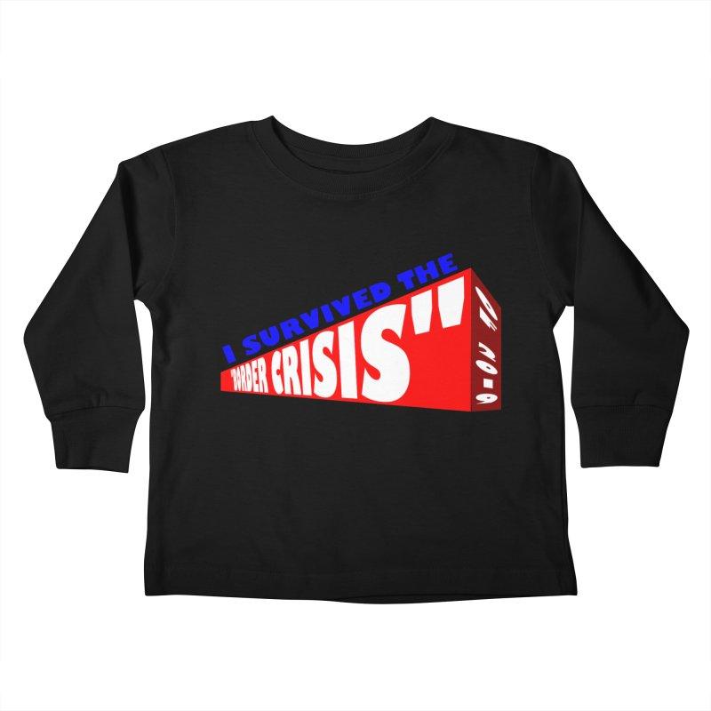 I survived Kids Toddler Longsleeve T-Shirt by Sam Shain's Artist Shop