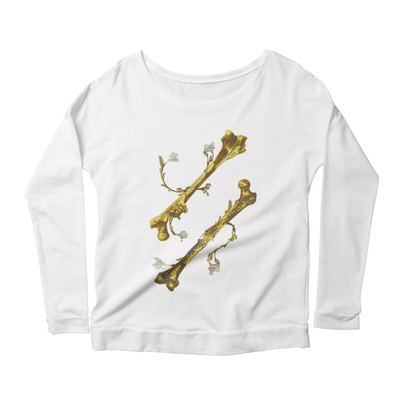 Renaissance Women's Scoop Neck Longsleeve T-Shirt by Saṃsāra LSD