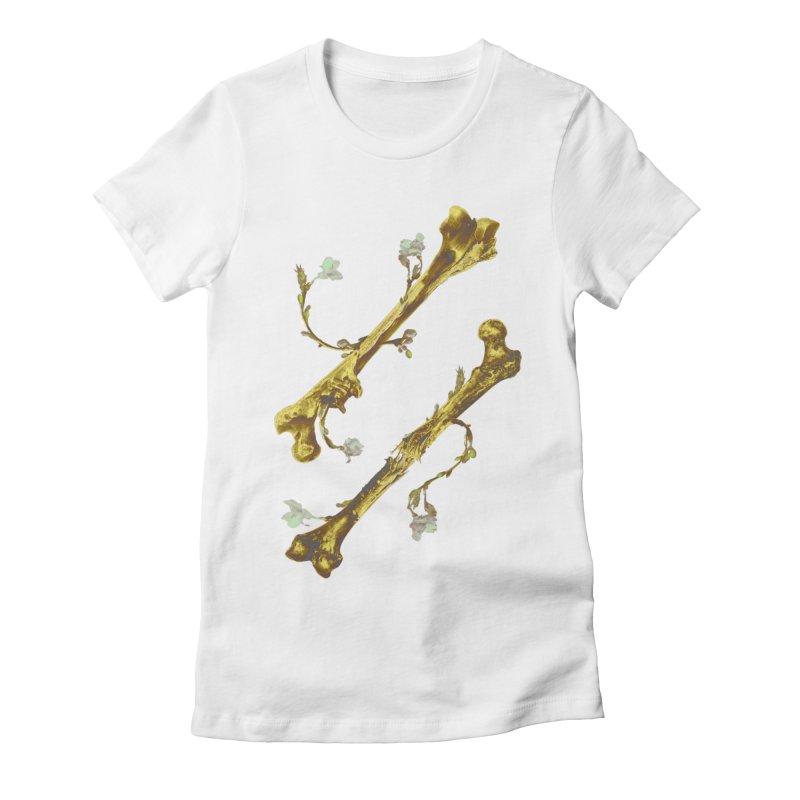 Renaissance Women's Fitted T-Shirt by Saṃsāra LSD