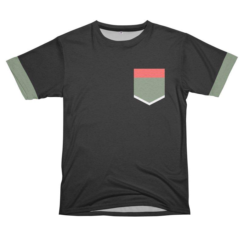 Follow me Men's French Terry T-Shirt Cut & Sew by Saṃsāra LSD