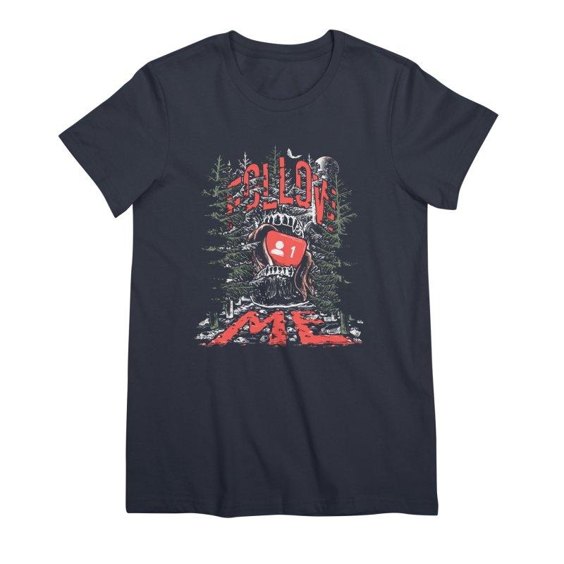 Follow me Women's Premium T-Shirt by Saṃsāra LSD