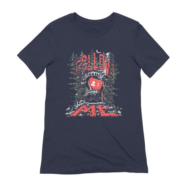 Follow me Women's Extra Soft T-Shirt by Saṃsāra LSD