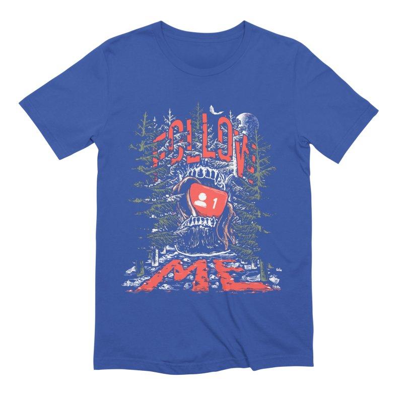 Follow me Men's Extra Soft T-Shirt by Saṃsāra LSD