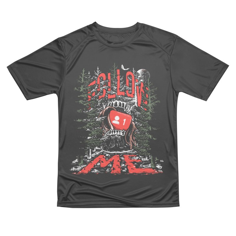 Follow me Men's Performance T-Shirt by Saṃsāra LSD