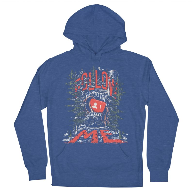 Follow me Women's French Terry Pullover Hoody by Saṃsāra LSD